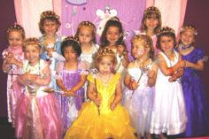 Girls Princess Party At A Dash Of Panache Birthday Parties 217 Vernon