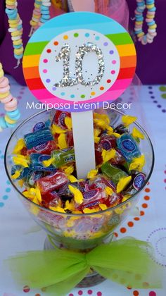 Candy Land Birthday Party Ideas | Photo 2 of 16 | Catch My Party