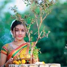 Desi, Saree, Nature, Model, Beauty, Fashion, Moda, Naturaleza, Sari