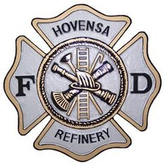 Hovensa Fire Department Seal Plaque. Have your fire department emblem carved into plaque inquire at MilitaryPlaques.com. Starts at $97.95