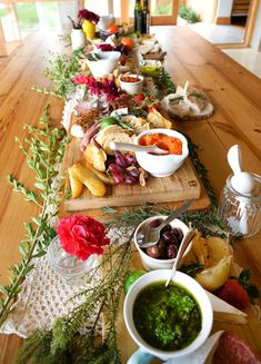 Crostini Bar from a Tribal First Birthday Party via Kara's Party Ideas | KarasPartyIdeas.com (19)