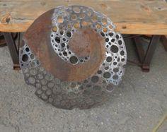 Reclaimed Recycled Up-cycled Art - Rustic Event Decor by NayaStudio Metal Wall Sculpture, Steel Sculpture, Wall Sculptures, Sculpture Art, Wood Wall Art, Canvas Wall Art, Art En Acier, Metal Worx, Plasma Cutter Art