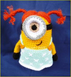 Ravelry: samarara's Minion with pigtails
