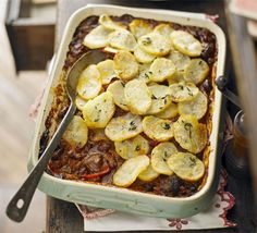 The ultimate make-ahead comfort food dish - if you're spending a weekend in the country this dish will defrost as you travel