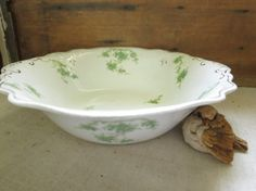 Antique Serving Bowl W.H.Grindley Vintage Serving by WrensAttic
