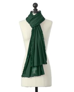 Tulane Green Wave | Ruffle Team Scarf | meesh & mia