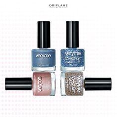 ¿Uno? ¿Dos? ¡Combina todos los colores en tu mani! #Nails #Manicure #Mani #Colors