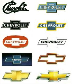 Evolution Of Car Manufacturers Logos Chevrolet Camaro, Chevrolet Trucks, Cool Trucks, Chevy Trucks, Pickup Trucks, Chevrolet Logo, Chevrolet Emblem, 1957 Chevrolet, Lifted Trucks