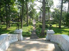 Chautauqua Institution - Hall of Philosophy Steps