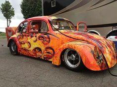 Vw Classic, Vw Beetles, Hot Rods, Cassandra Peterson, Vehicles, Slug, Amazing, Design, Beetles