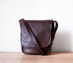 Mini Crossbody Bag in Espresso by morelle