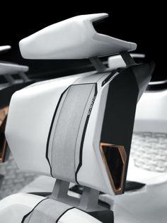 rhubarbes:  Peugeot Fractal Concept interior design. More car design here.