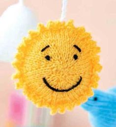 Free Knitting Pattern for a Sun