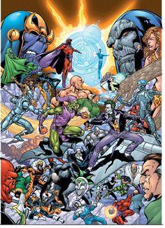 DC vs Marvel - Villains vs Villains Photo (2555736) - Fanpop