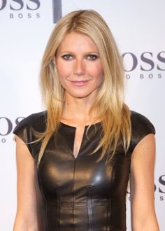 Gwyneth Paltrows hair!  Love it!