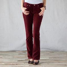 Day & Night Velveteen Jeans