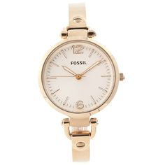 Fossil Women's ES3084 'Georgia' Goldtone Watch | Overstock.com Shopping - The Best Deals on Fossil Women's Watches