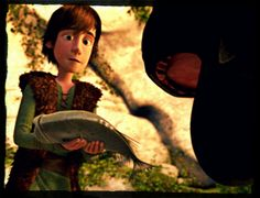 Fish? FISH!!!! That was probably Toothless's opinion.