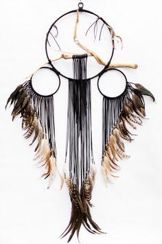 BartonHollow Driftwood Dreamcatcher ' Loon  https://www.etsy.com/listing/266603324/driftwood-dreamcatcher-loon-14-black