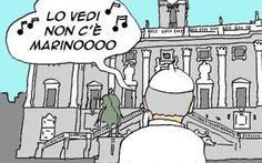 Marino e le dimissioni di un Sindaco eletto A bocce ferme sto cercando di capire quanto sia avvenuto a Roma, ovvero del perché Marino si sia dimesso. Passata l'ondata mediatica che ha scatenato, commenti, vignette, satira e altro mi sono post #marino #romacapitale #satira