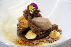 Chocolate Smores from Executive Pastry Chef Deden Putra of The Peninsula New York (food plating diy)