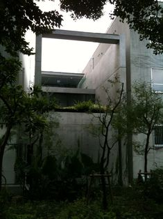 Tadao Ando, kameda house in utsubo park, ōsaka 靱公園 大阪