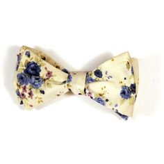 Flyte Bowtie. Is it weird that I think it's sexy when guys wear floral bowties? It's not very straight but I find it mysteriously appealing.