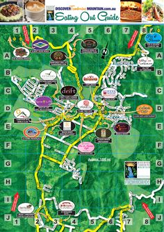 You Can Also Find These Eateries On The Main Map!