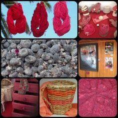 Productos teñidos con cochinilla JCG