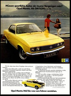 Opel Manta | Flickr - Photo Sharing!