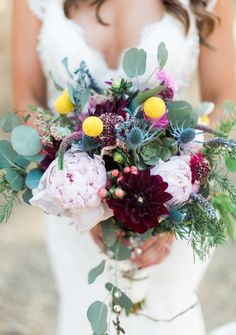 Love this colorful bouquet