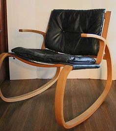 High Quality Danish Modern Rocking Chair  Plycraft Pictures