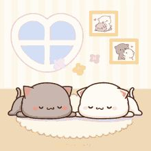 Cute Love Pictures, Cute Images, Kiss Animated Gif, Sad And Lonely, Cute Love Cartoons, Cat Stickers, Cute Chibi, Gifs, Kawaii Cute
