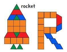 Jessica\'s Pattern Block Mats (Printables) Best site I\'ve found so ...
