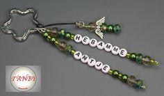 Schlüsselangänger Hebamme schützender Engel Nr.6 von TANBI-mommies auf DaWanda.com