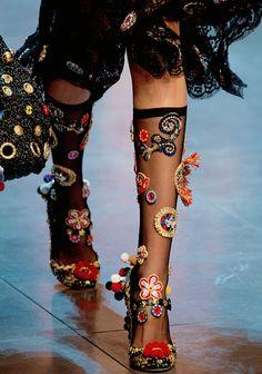 TatiTatiStyle ♔ Dolce & Gabbana Ready to Wear S/S 2016.