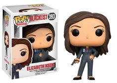 Cabezón Elizabeth Keen 9 cm. The Blacklist. Línea POP! TV. Funko  Estupendo cabezón de Elizabeth Keen, uno de los personajes de la serie de TV titulada The Blacklist, fabricado en vinilo de alta calidad por la compañía Funko de la línea POP! TV y 100% ofi