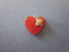 Polymer Clay Healing Heart Charm by SienasSmallSweets on Etsy, $5.50