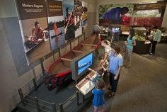 """""""Dugout Canoes: Paddling through the Americas"""" traveling exhibit is now at the NC Arboretum in Asheville NC through May 2, 2017.  Based on the world's largest archaeological find – 101 prehistoric dugouts from 500 to 5,000 years old were discovered in Newnans Lake in Florida.  """"Dugout Canoes"""" features ancient artifacts, tools, videos, models & life-size vessels to tell the story of how life & travel in the Americas have been affected by the use of dugout canoes through time. ncarboretum.org/"""