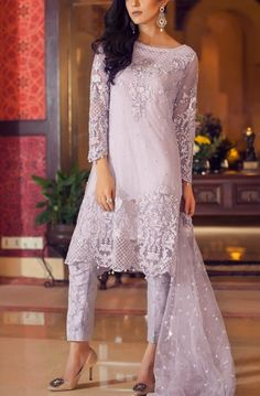 Maria B Eid Dresses Collection 2016                     Eid Outfits, Pakistani Outfits, Indian Outfits, Pakistani Party Wear, Pakistan Fashion, India Fashion, Asian Fashion, Eid Dresses, Indian Dresses