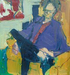 Jennifer Pochinski | Woman Large Foot , 21.5 x 22 oil canvas 2016