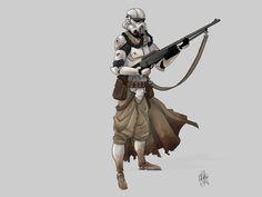 Star Wars Elite trooper