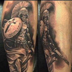 warrior tattoo spartan tattoos roman warrior tattoo spartan tattoo ...