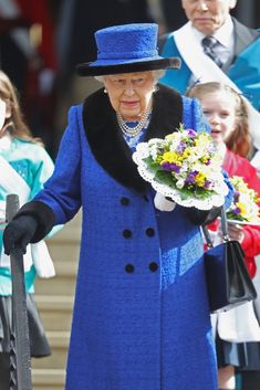 Queen Elizabeth II Attends Church Service Solo After Prince Philip Cancels Last Minute