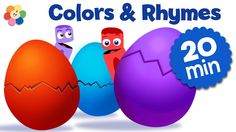 Join in the fun with these surprise eggs nursery rhymes in our cartoons for children. This compilation is filled with entertaining songs for kids and educati...