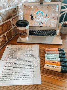 VSCO abbyviktoria // aesthetic notes school coffee shop - Laptop - Ideas of Laptop - VSCO abbyviktoria // aesthetic notes school coffee shop Study Organization, School Study Tips, Vsco, Pretty Notes, School Notes, Study Hard, Study Motivation, Motivation For Studying, Study Notes