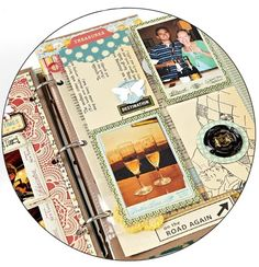7 Tips for Travel Mini Albums from Creating The Keepsakes Blog