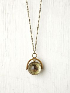 Free People Sapphire Globe Necklace My FAVORITE piece in my collection.