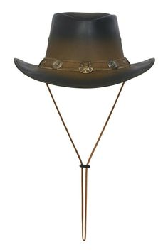 """Premium Quality Craftsmanship Split Leather Water Repellent Lightweight And Comfortable Grommets In Crown For Ventilation Shape able brim Brim: 3 """" Band: Braided Leather Colors: Tan,with black smoke edge Leather Cowboy Hats, Stylish Hats, Black Smoke, Girl With Hat, Brown Fashion, Western Cowboy, Braided Leather, Real Leather, Crown"""