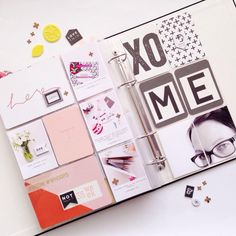 ➕ Hello. XO ME. 2015 Project Life Week Thirty-Six. Continuing on with my all time fav #creativemess #projectlife ➕ Using the @studio_calico #popartkit #mysckitishere ➕ #hellotodaycreatepl #memorykeeping #scrapbooking #inmystudio #onmydesk